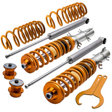 Full-Kit Spring Coil-Strut-Kit Shock-Absorber Golf Mk Coilover Volkswagen for VW Volkswagen/Golf/Mk/..