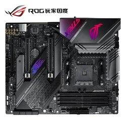 Nowy asus rog STRIX X570-E do gier pulpit gra komputerowa płyta X570 gniazdo AM4 DDR4 USB3.2 128G HDMI M.2 płyta główna pulpitu