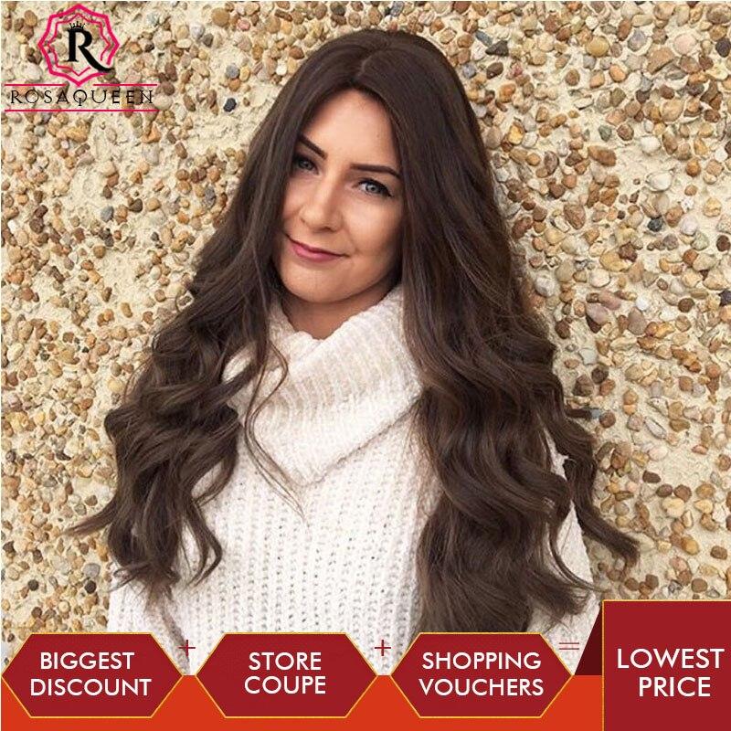 Rosa Queen Kosher Jewish Wig European Virgin Hair Wig Double Drawn Natural Silk Base Wig Silk Top