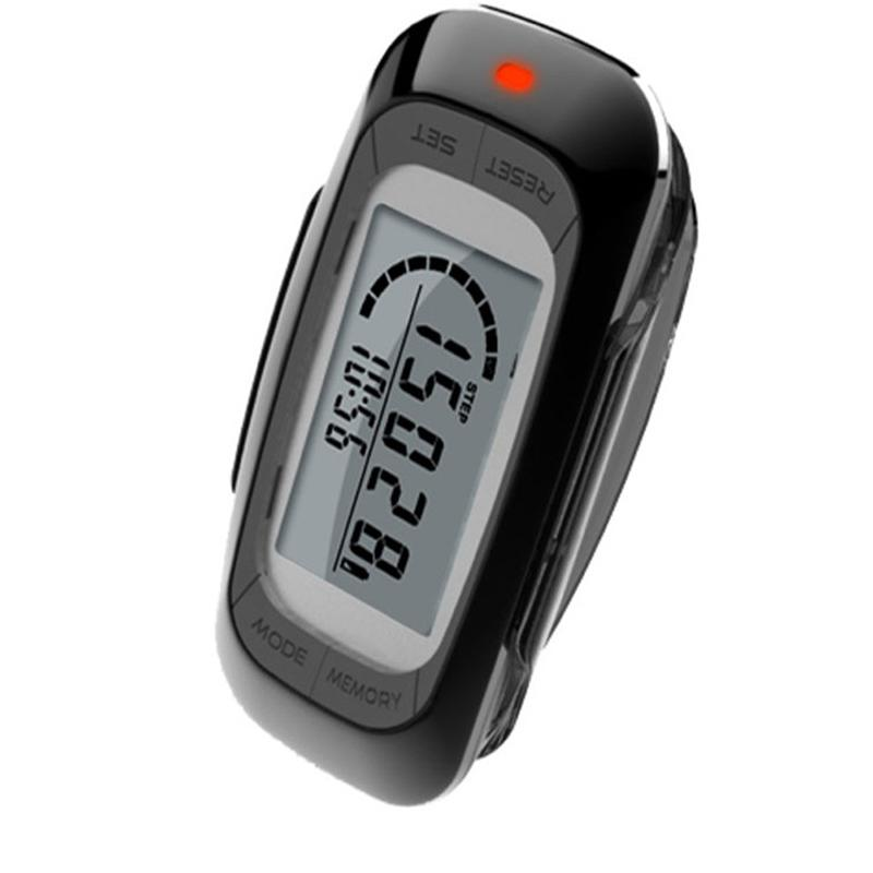 HobbyLane Walking Distance Fitness Calorie Exercise Pedometer Step Counting Portable Digital Silent Induction Multi function 3D Outdoor Tools     - title=