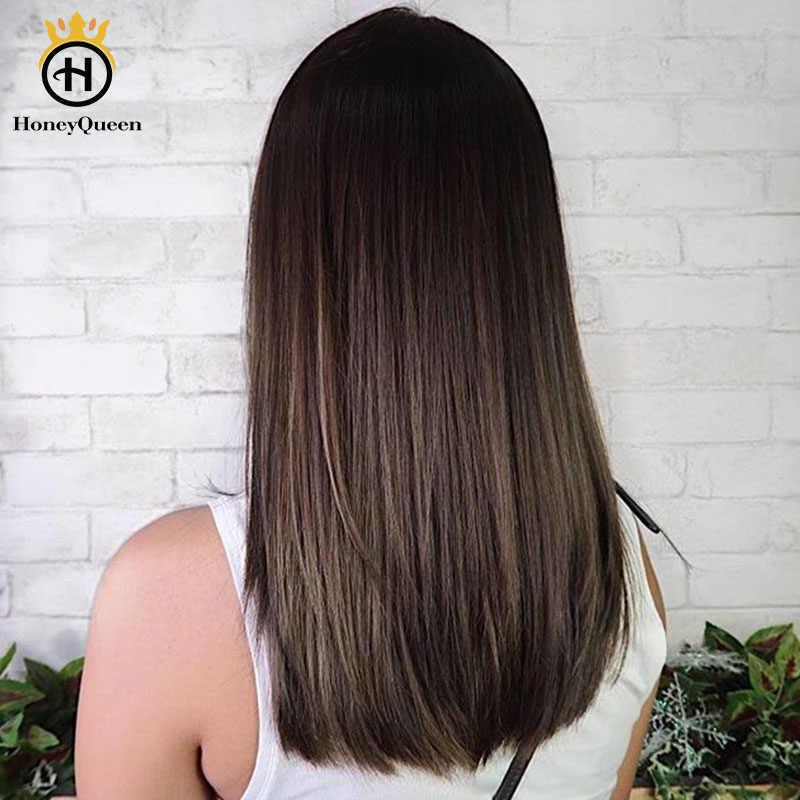 Koszerna peruka żydowska podwójna ciągniona jedwabna baza ludzkich włosów peruki dla kobiet europejska peruka włosów 150 gęstość miód królowa Remy pełne końce