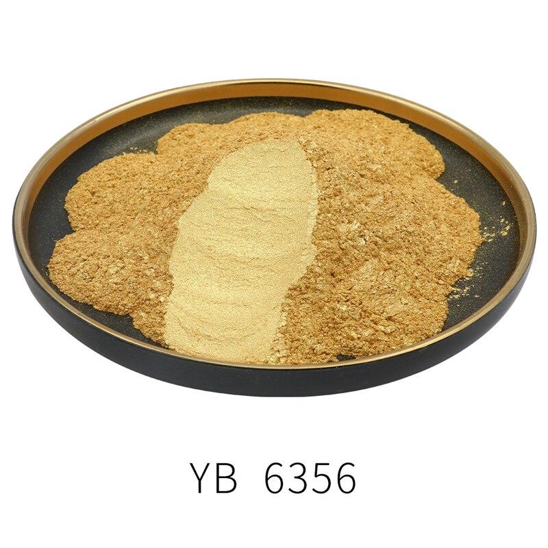 Gold Pearl Powder Pigment 50g Dye Ceramic Powder Paint Coating Automotive Arts Crafts Mica Powder Pigment Gold Color Powder
