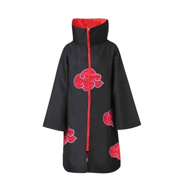 Naruto traje akatsuki manto cosplay sasuke uchiha capa cosplay itachi vestuário cosplay traje