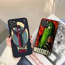 i am pickle rick Phone Case For iphone 5s 6 7 8 11 12 plus xsmax xr pro mini se Cover Fundas Coque