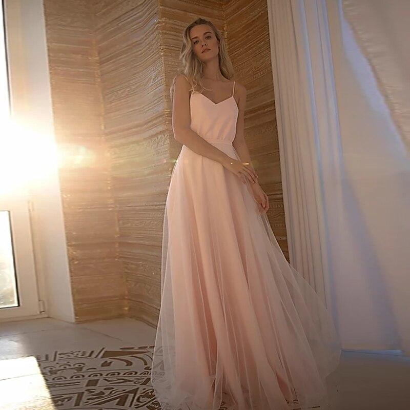Verngo A Line Evening Dress Long Pink Formal Dress Vintage Prom Dress Elegant Party Gowns Detachable Train Vestidos De Fiesta