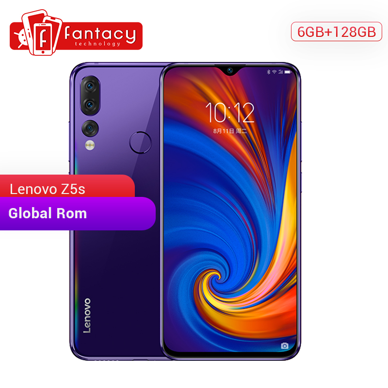 Global Rom Lenovo Z5s 6GB 128GB Snapdragon 710 AIE Octa Core Smartphone 6.3