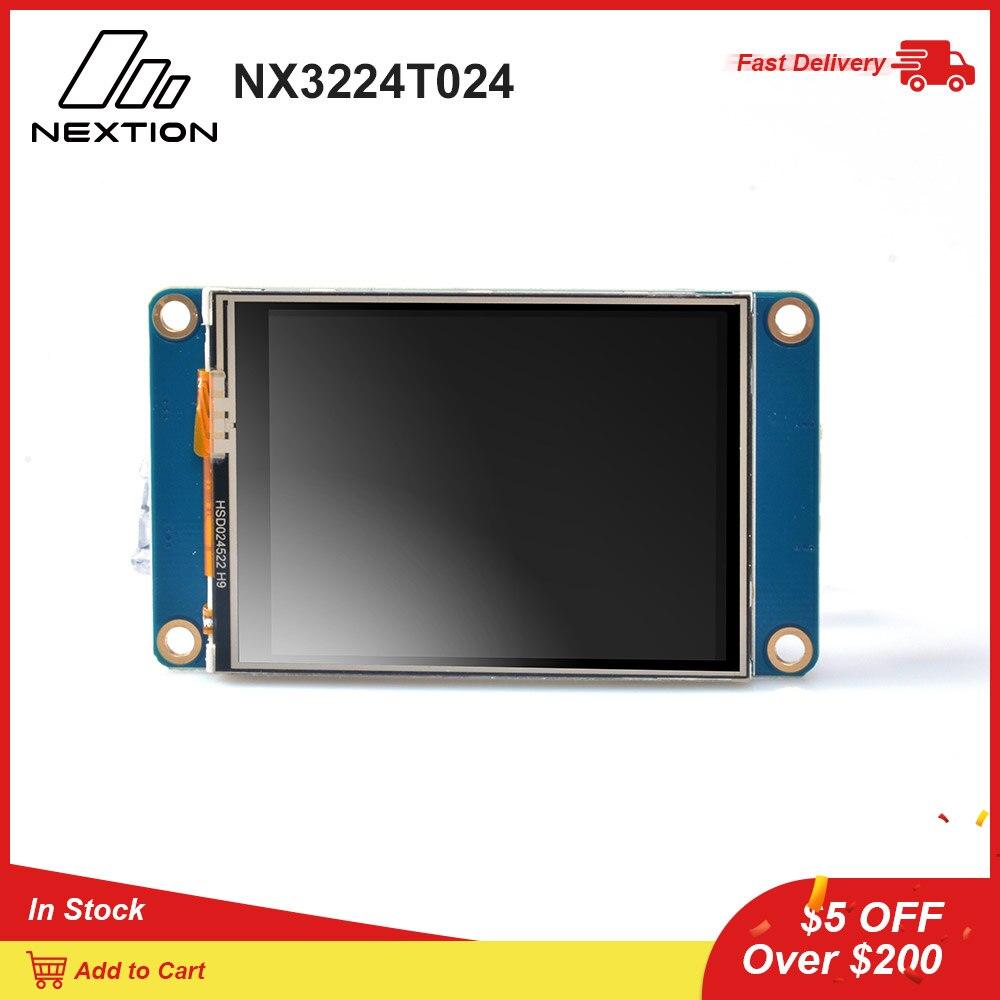 Nextion NX3224T024   2.4 HMI Intelligent LCD Touch Display USART TFT LCD MCU to TTL Module DisplayLED Displays   -