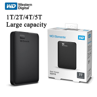Western Digital WD Elements Hard Drive Hard Disk HDD 2.5 1TB 2TB 4TB 5TB HDD USB 3.0 Portable External Hard Disk storage