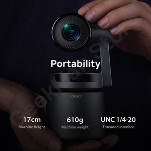 Image 4 - OBSBOTหางAuto Director AIกล้องTrackซูมอัตโนมัติจับ 4K/60fps Vs Insta360 One X Evo 360 กล้อง