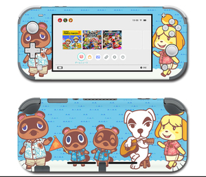 Image 4 - Vinyl Screen Skin Protector Stickers for Nintendo Switch lite Console Animal Crossing Skins