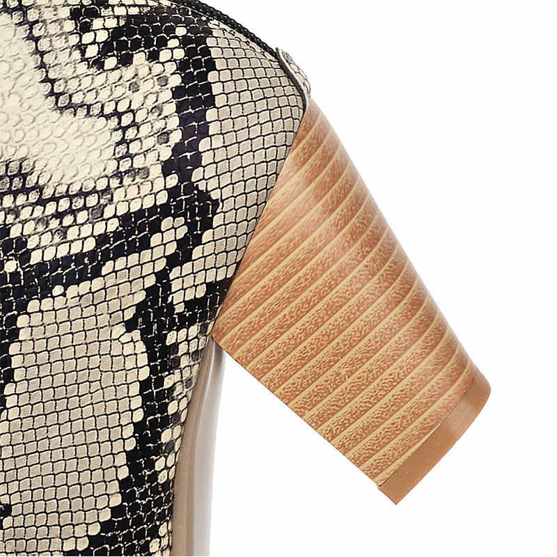 Lasyarrow Plus Größe 34-47 Chunky Heels Heißer Verkauf dropship Schuhe Frau Stiefel Weibliche Mischung Farbe Zip Up Ankle stiefel Frauen Schuhe