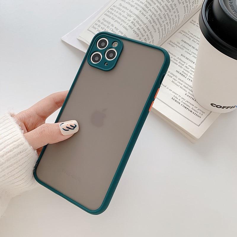 Mint Hybrid Case for iPhone SE (2020) 62