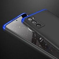 Funda GKK para Samsung Galaxy S20 FE Fan Edition, cubierta mate de protección completa