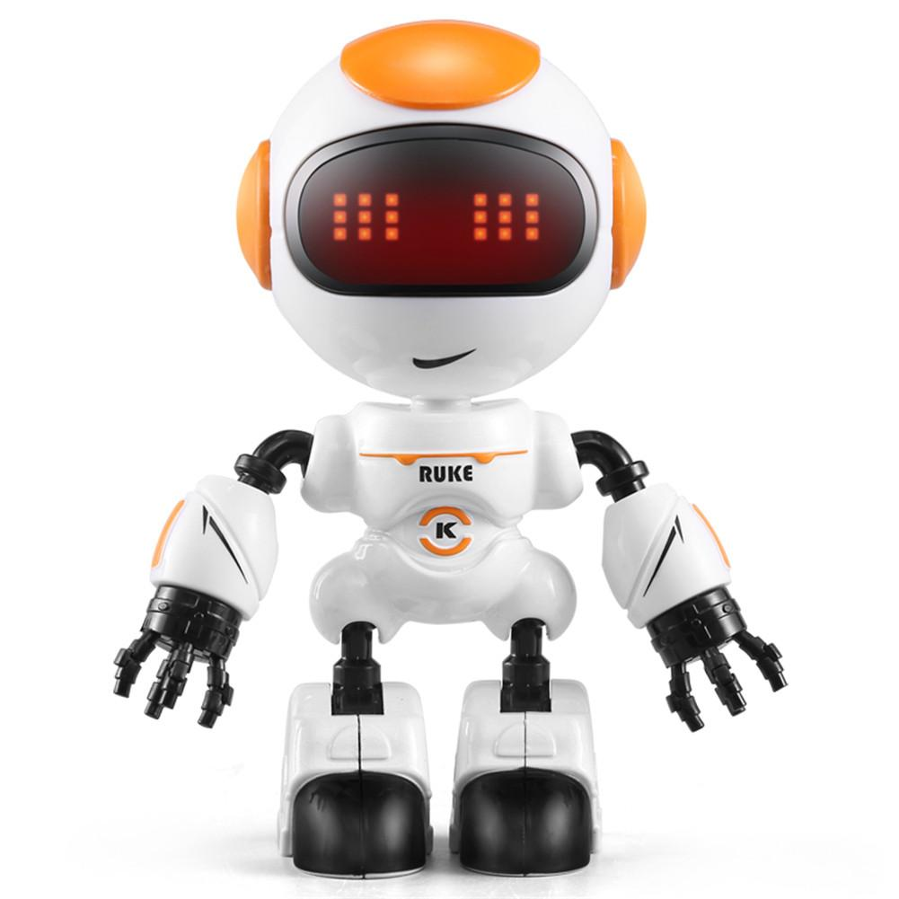 Robot Toy Intelligent Electronic Talking Toys Sensing Touch Multi-function Music Smart Mini Alloy Robot For Kids Toy Gift