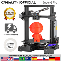 CREALITY 3D Ender 3 Pro Printer Printing Masks Magnetic Build Plate Resume Power Failure Printing DIY KIT Mean Well Power Supply