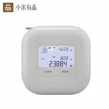 Youpin akku 2 в 1 лазерная рулетка измерительный дальномер 25