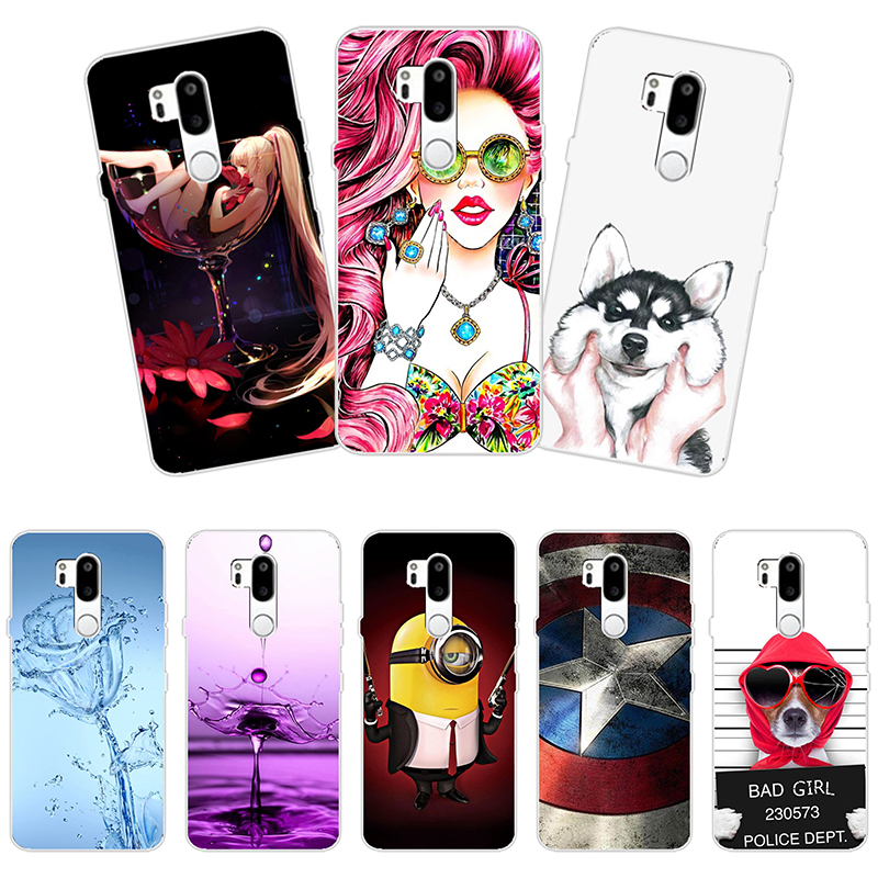 Fashion Soft Silicone Capa For ZTE Blade A511 A 511 ZTE Blade A515 A 515 5.0 Case Cover Pattern Painted Phone Back Case image