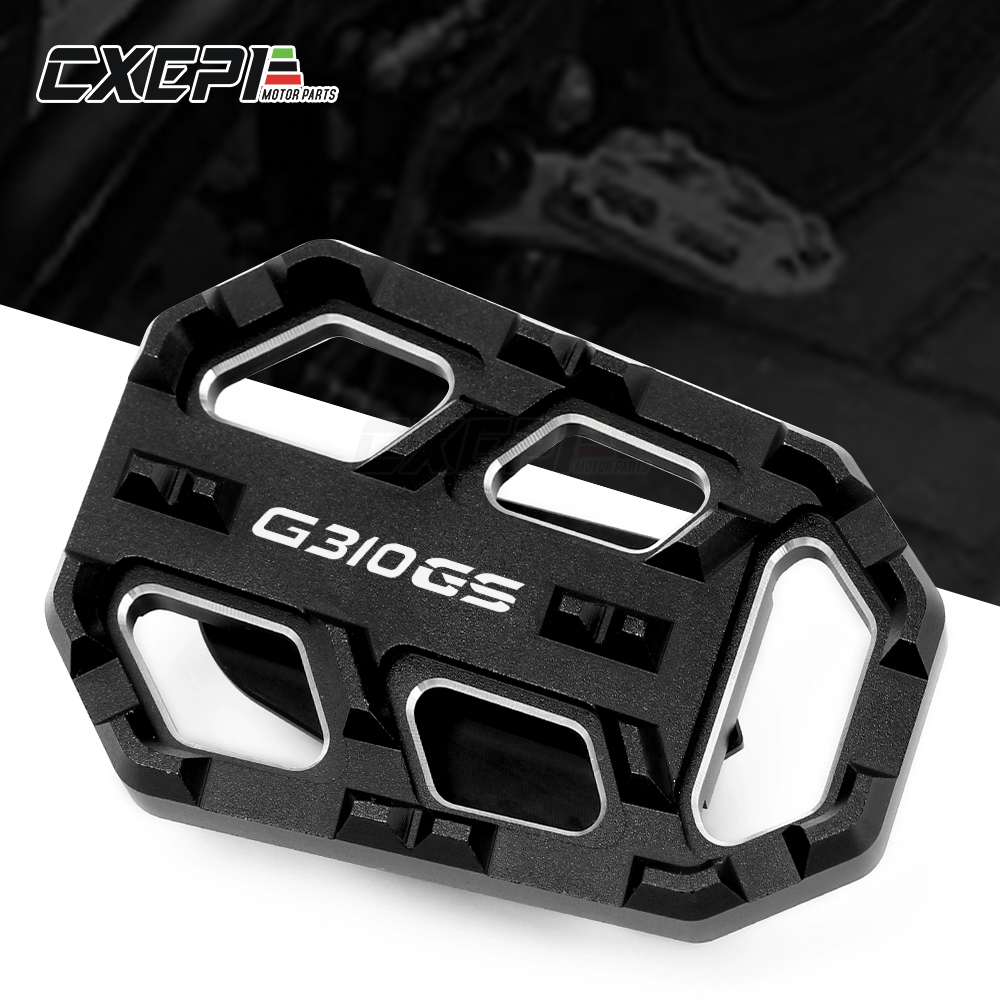 Motorcycle Accessories For BMW G310R G310GS 2017-2018 <font><b>G</b></font> <font><b>310</b></font> <font><b>R</b></font> <font><b>G</b></font> <font><b>310</b></font> GS Rear Foot Brake Lever Peg Pad Extension Enlarge Extender image