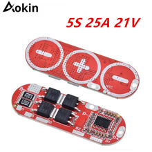 BMS 1S 2S 10A 3S 4S 5S 25A 18650 Li-Ion Lipo Lithium-Batterie Schutz Schaltung board Modul PCB PCM Zubehör