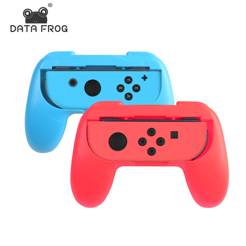 DATA FROG 2 PCS Left+Right Joycon Bracket Stand Holder For Nintend Switch NS Joy-Con Controller Gamepad Hand Grip Accessories