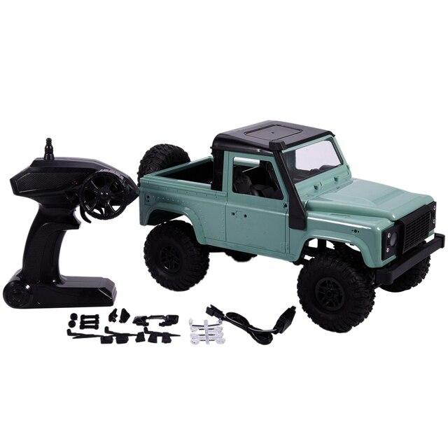 1:12 Scale RC Crawler Car Assembled Model RTR Version Car 2.4G 4WD MN-91K RC Rock Crawler D90 Pickup Remote Control Truck