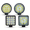 4 дюйма 27 Вт светодиодный рабочий свет Прожектор 12 в 24 В круглый светодиодный внедорожный свет лампа рабочая лампа для внедорожников мотоци...