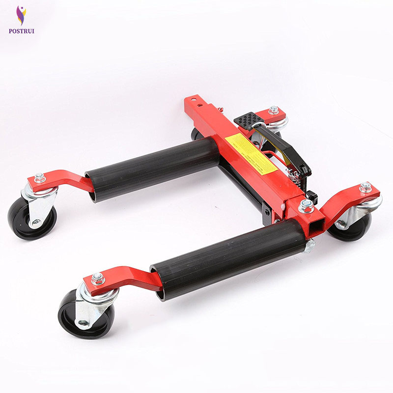 POSTRUI 680kg Hydraulic Car Moving Machine Max Moving Universal Wheel Car Mover Hydraulic Trailer Vehicle Device