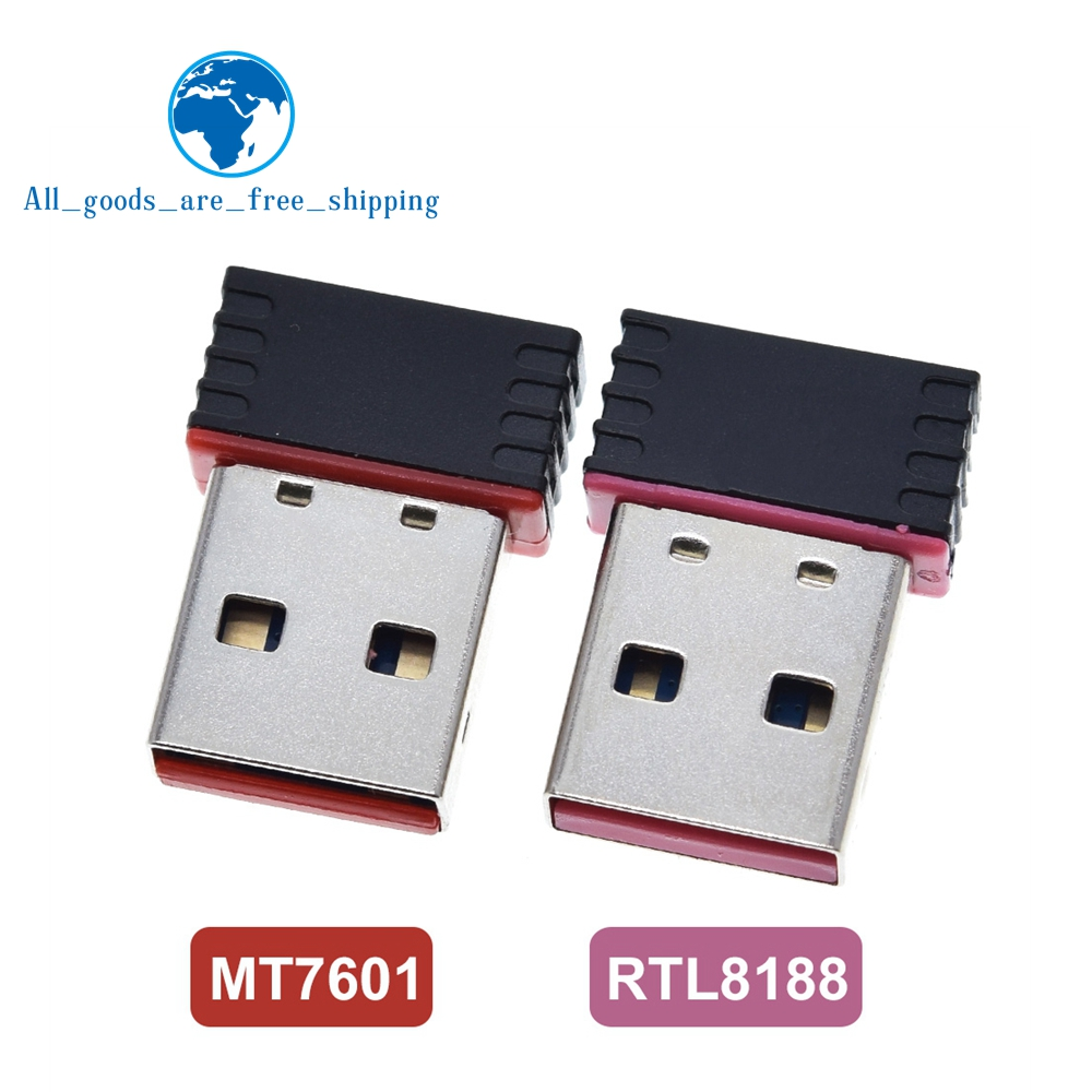 MT7601 Mini USB Wifi Adapter 802.11n Antenna 150Mbps USB Wireless Receiver Dongle Network Card External Wi-Fi For Desktop Laptop