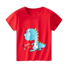 New Hot T Shirt for Girls Tops Printed Kids t shirt Clothes 3-8 Y Children T-shirt for Boys Cartoon Boys 2020 new summer boys t shirt girls t shirt girls t shirt cotton children s t shirt boys t shirt children s t shirt boys clothes