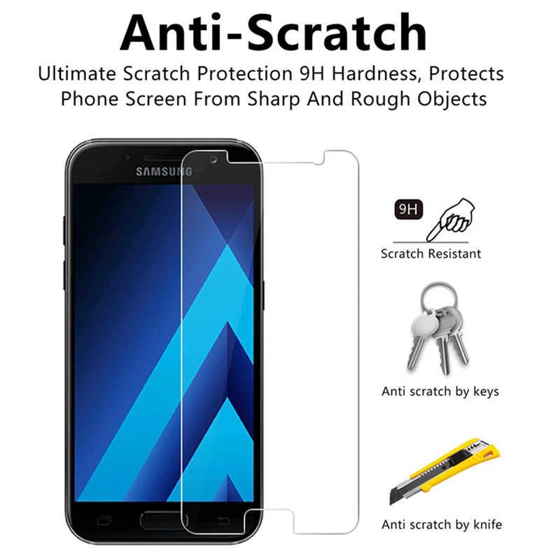 9H HD الزجاج المقسى لسامسونج J1 Mini 2016 J2 Ace الهاتف واقي للشاشة لسامسونج غالاكسي جراند برايم زائد الأساسية لمبة مصنوعة من الزجاج الصلد