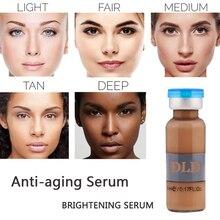 5 оттенков bb крем светящийся DLD антивозрастная Сыворотка 5 мл/бутылка Meso белая осветляющая сыворотка натуральный телесный консилер макияж bb крем-основа