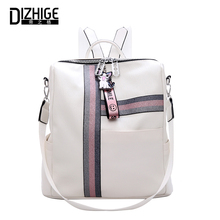 DIZHIGE Brand Fashion Multifunctional Bags Large Capacity PU Women Backpacks High Quality School Bag For Teenager Girl