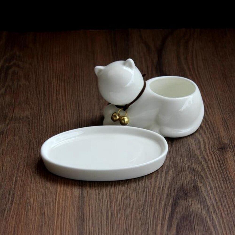 Купить с кэшбэком Creative Pots Succulents Elephant Shaped Cat Dog Ceramic Flower Pot Ceramic Home Decor