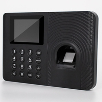 Biométrico de Impressão Digital Comparecimento Máquina USB LCD Senha Impressão Digital Sistema Do Comparecimento Do Tempo da impressão digital Relógio Empregado do Check in Gravador|Registro de horas| |  -