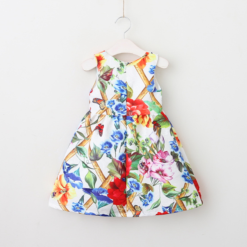 143-2-Girls Flower Princess Sundress