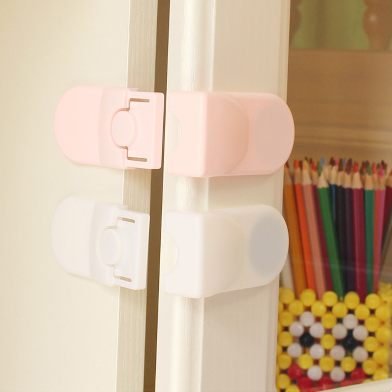 ABS Child Baby Safety Lock Multi-function Cupboard Cabinet Door Drawer Safety Locks Children Security Protector Baby Care