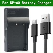 NP-60 câmera carregador de bateria para drift hd hd170 stealth hd720 para kodak KLIC-5000 pentax D-Li2 para ricoh DB-40 LI-20B