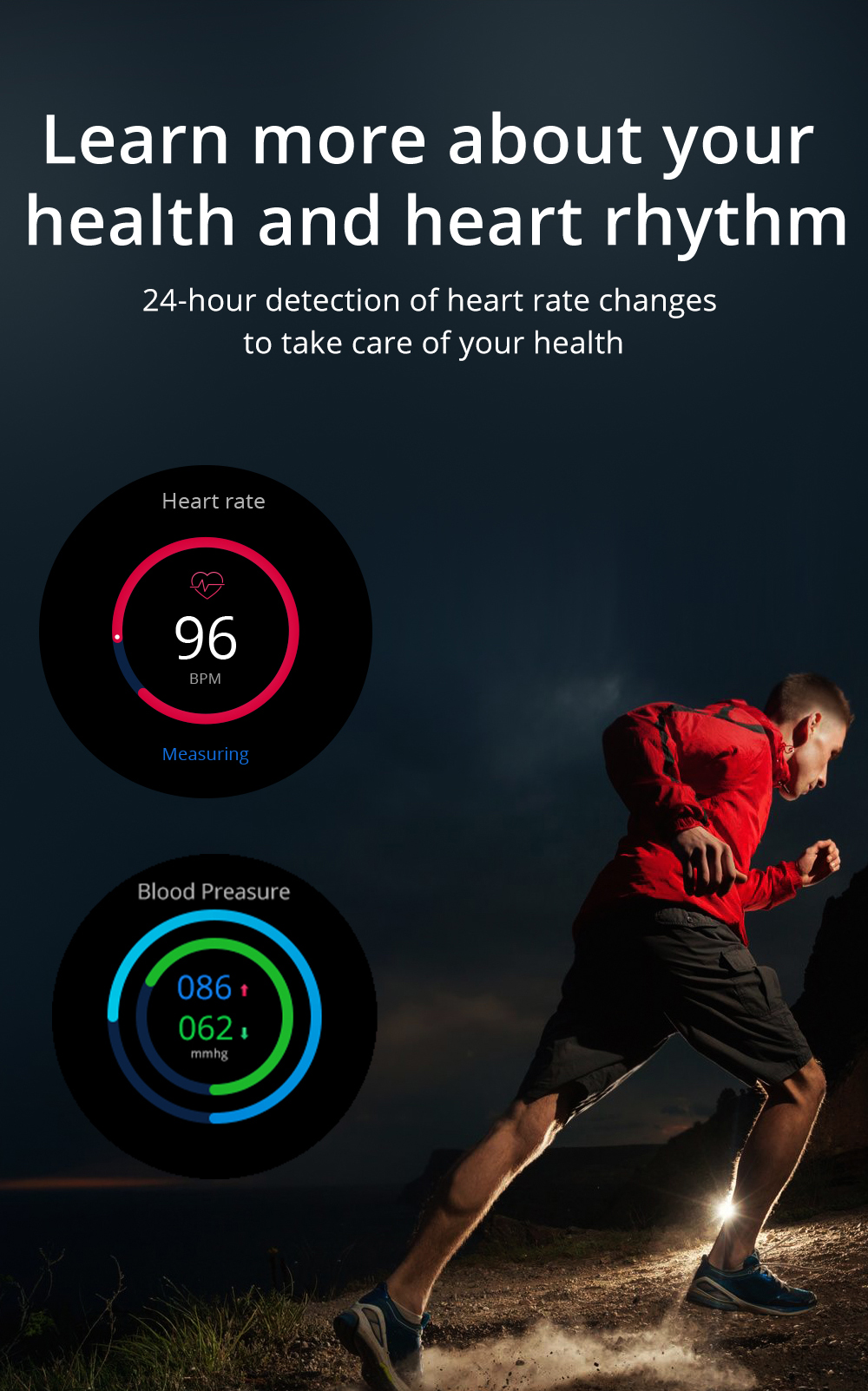 H7a95a9c13ea44dad9cca96048e5bd522K LOKMAT ATTACK Full Touch Screen Fitness Tracker Smart Watch Men Heart Rate Monitor Blood Pressure Smartwatch For Android iOS