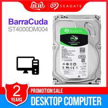 Seagate 4TB Desktop HDD Internal Hard Disk Drive 5400 RPM SATA 6Gb/s 256MB Cache 3.5inch HDD Drive Disk For Computer ST4000DM004