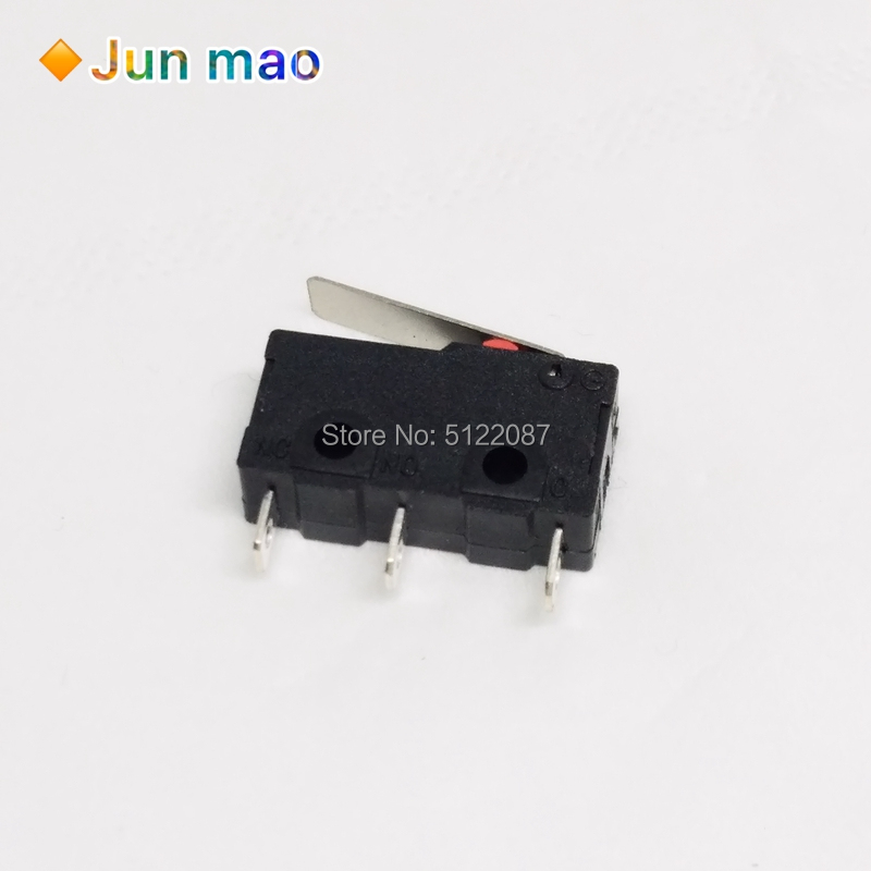 5PCS NEW Tact Switch KW11-3Z 5A 250V Microswitch Round Handle 3PIN