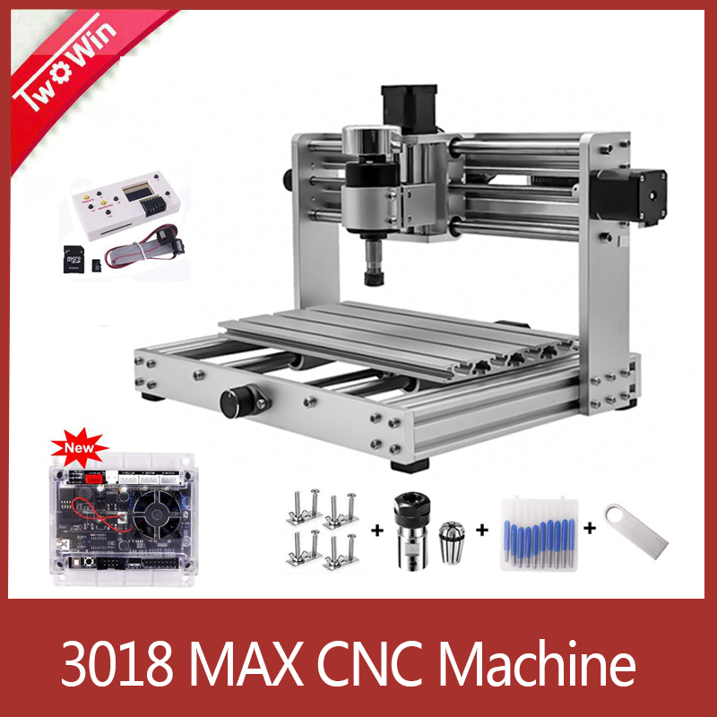 CNC 3018pro-METAL Engraver,GRBL Control With 200W Spindle DIY CNC Machine,3 Axis PCB Milling Machine,Support Laser Engraving