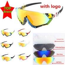 F-J поляризованные велосипедные очки с 4 линзами, красные велосипедные солнцезащитные очки mtb Radare, велосипедные очки, спортивные очки