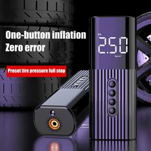 Car-Tyre-Pump Tyre-Inflator Portable Compressor Digital Cordless Rechargeable 12v 150psi