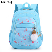 Kids Bags Backpacks Book-Bag Mochilas Girls LXFZQ for Scuola Escolares High-Capacity