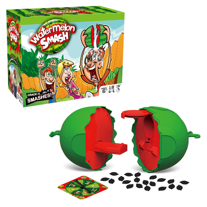 Burst watermelon smash new wonder party game Parent-child interaction children's educational Tricky board game toys