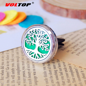 Image 2 - Life Tree Car Diffuser Air Vent Air Freshener Car Accessories for Girls Perfume Clip Diffuser Fragrance Can Add Essential Oil