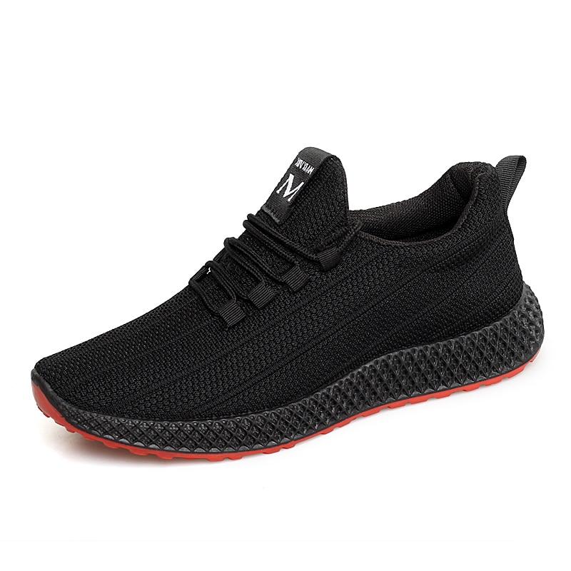 2020 Breathable Mesh Casual Men Shoes Adult Male Autumn Sneakers Men Footwear Running Shoe Comfort Lightweight Footwear Dropping