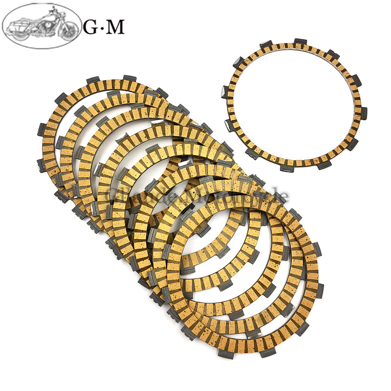 07 06 05 2004-2008 9 pcs Motorcycle Clutch Plates Set for Yamaha YZF-R1