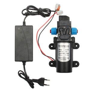 Image 2 - 60W Micro Electric Diaphragm water pump 12V DC Automatic Switch 5L/min High Pressure Car Washing Spray vacuum Pump 0.8Mpa 5L/min
