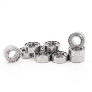 Image 1 - Mr15zz rolamento 5*10*4mm (10 pces) ABEC 5 miniatura mr155 z zz alta precisão mr15z rolamentos de esferas